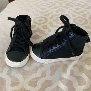 Gap black high top sneakers